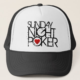 Sunday Night Poker Trucker Hat