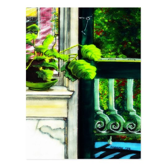 Sunday Porch - Postcard