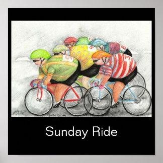Sunday Ride Poster