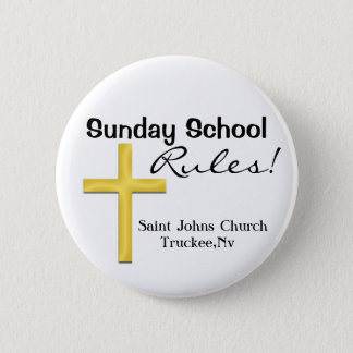 Sunday School-Holy Cross 2 Inch Round Button