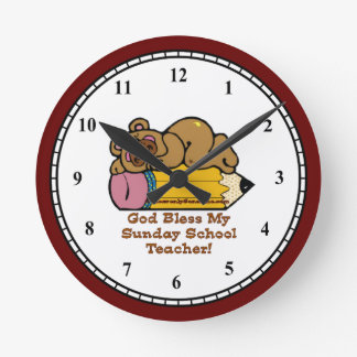 Sunday School Teacher Clocks