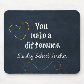 Sunday School Teachers Mouse Pad