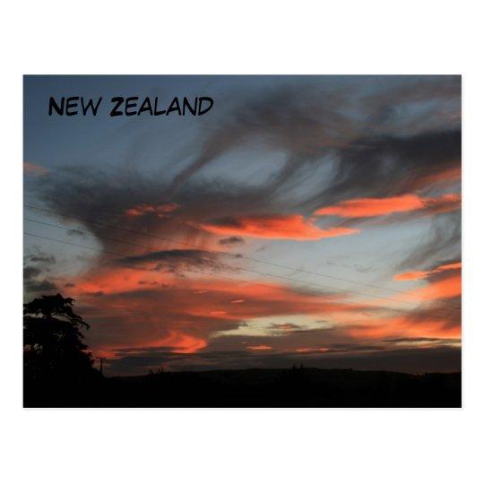 Sunday Sunrise Postcard