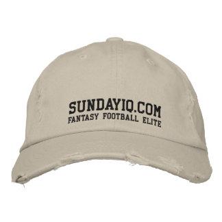 SundayIQ.Com: Fantasy Football Elite Embroidered Hat