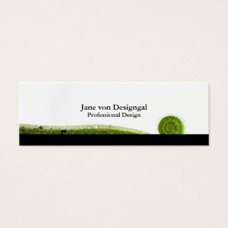 Sundew Frond Mini Business Card
