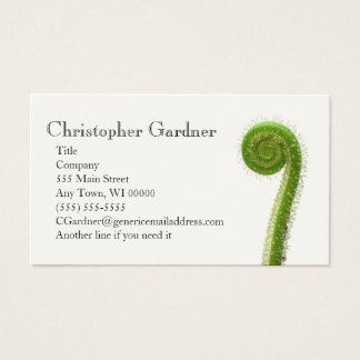 Sundew Plant Business Card