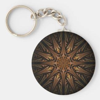 Sundial Fractal Keychain