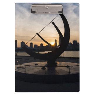 Sundial Sunset Clipboard