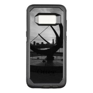 Sundial Sunset Grayscale OtterBox Commuter Samsung Galaxy S8 Case