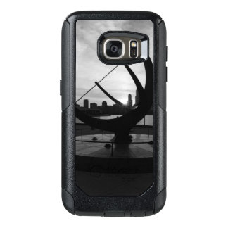 Sundial Sunset Grayscale OtterBox Samsung Galaxy S7 Case