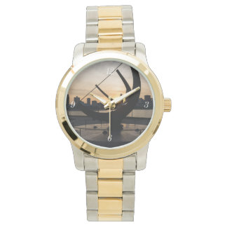 Sundial Sunset Wristwatch