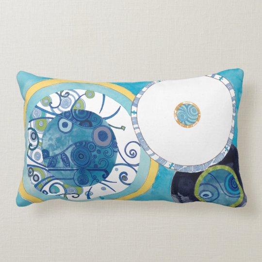 Sundog and Moondog Lumbar Pillow
