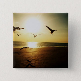 Sundown 2 Inch Square Button