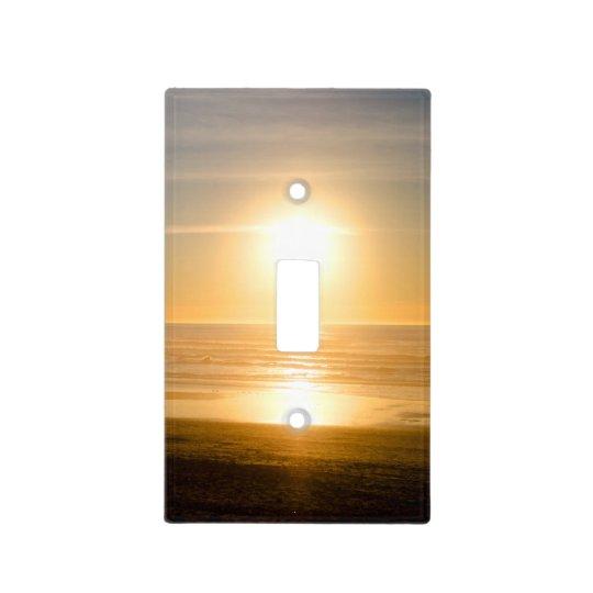 Sundown at Ocean Beach Light Switch Cover