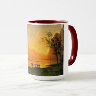 Sundown at Yosemite Coffee Mug