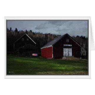 Sundown on Washday – Broadacres Farm, Jefferson, N Card