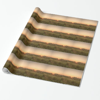 Sundown Wrapping Paper