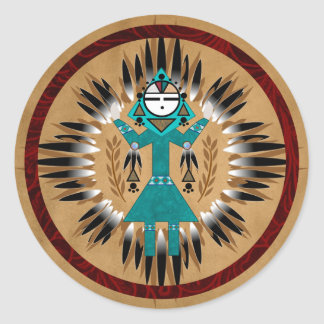 Sunface Kachina Stickers
