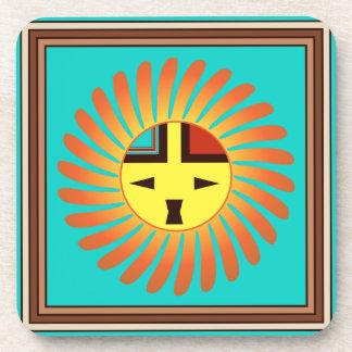 Sunface - Tawa Kachina Set of 6 Coasters