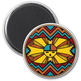 SunFaceRound Magnet