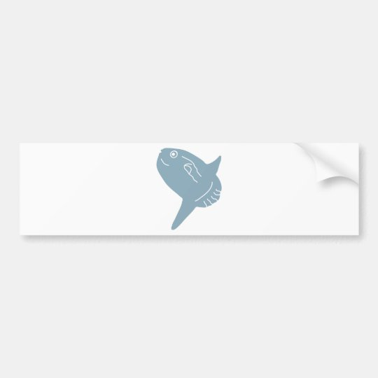 sunfish bumper sticker