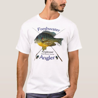 Sunfish Freshwater angler fishing Tshirt. T-Shirt