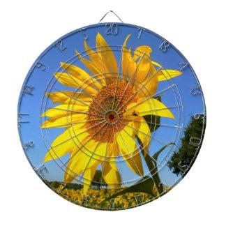 Sunflower 01.1rd, Field of Sunflowers Dartboard