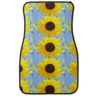 sunflower-11 car mat