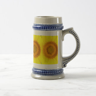 Sunflower 22 oz Stein (select color)