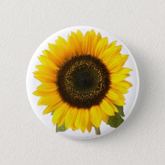 Sunflower 2 Inch Round Button