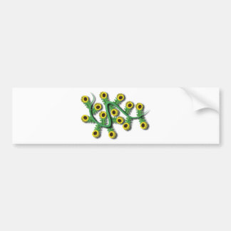 Sunflower 3D Bumper Sticker