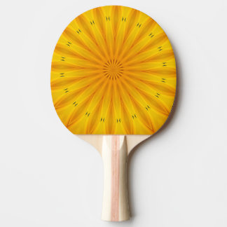 sunflower a ping pong paddle