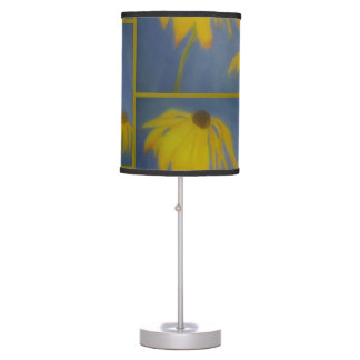 Sunflower Abstract Design Table Lamp