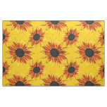 Sunflower Abstract Fabric