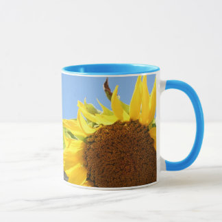 Sunflower and Blue Skies Mug
