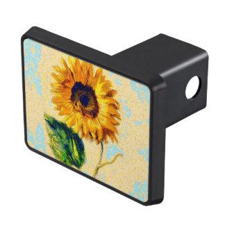 Sunflower Art Trailer Hitch Cover