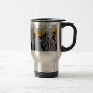 Sunflower Artistic Elegant Nostalgic Trendy Travel Mug
