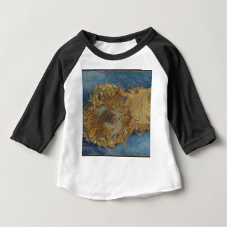 Sunflower background baby T-Shirt