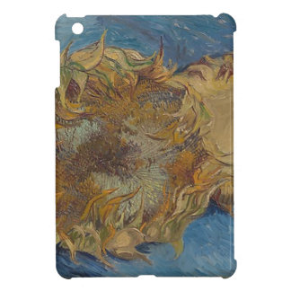 Sunflower background iPad mini case