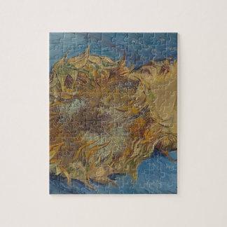 Sunflower background jigsaw puzzle