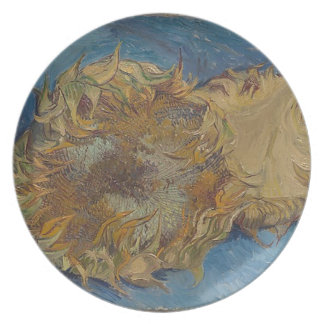 Sunflower background plate