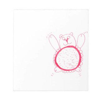 Sunflower Bear Notepad