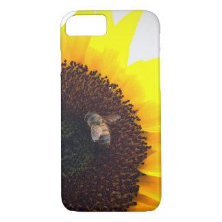 Sunflower Bee Calls iPhone 7 Case