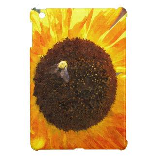 Sunflower Bee iPad Mini Cases