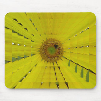 Sunflower Bee Pretty Mouse Pad