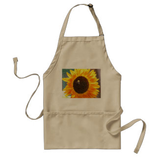 Sunflower Bee Standard Apron