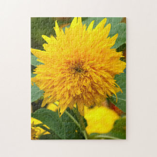 Sunflower Before Bloom Jigsaw Puzzle