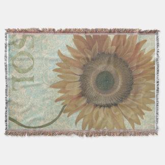 Sunflower Blanket/Throw Throw Blanket