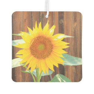 Sunflower bloom car air freshner air freshener
