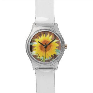 Sunflower Bloom Watch